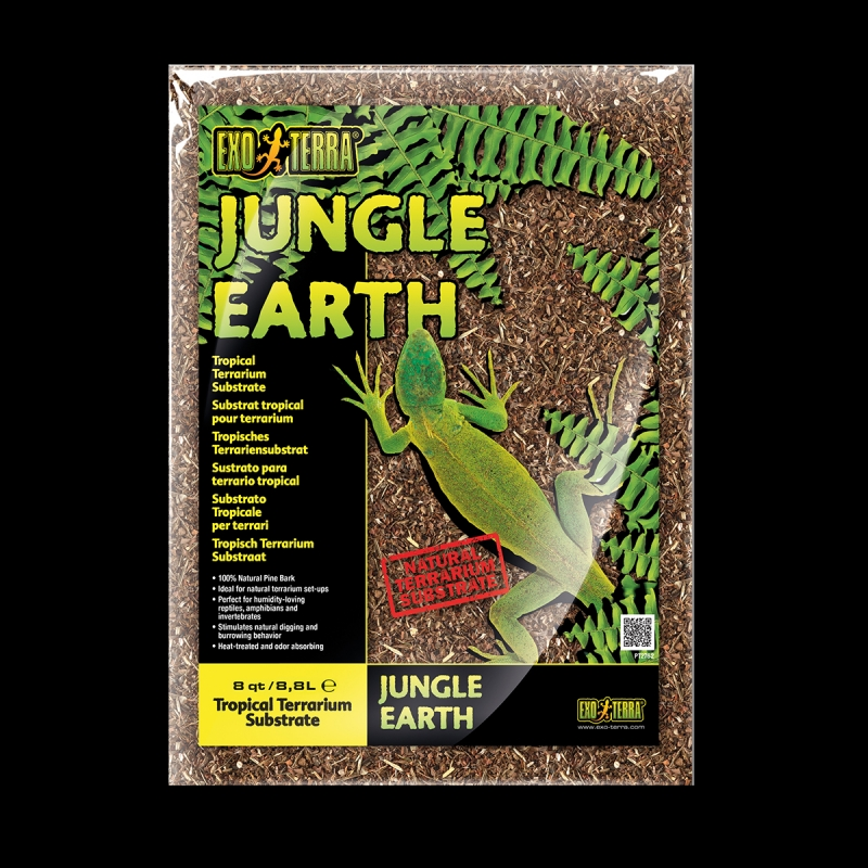 Субстрат Exo-Terra Jungle Earth Substrate, 8,8 л