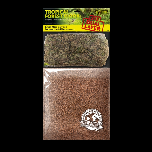 Субстрат Exo-Terra Tropical Forest Floor, 8л